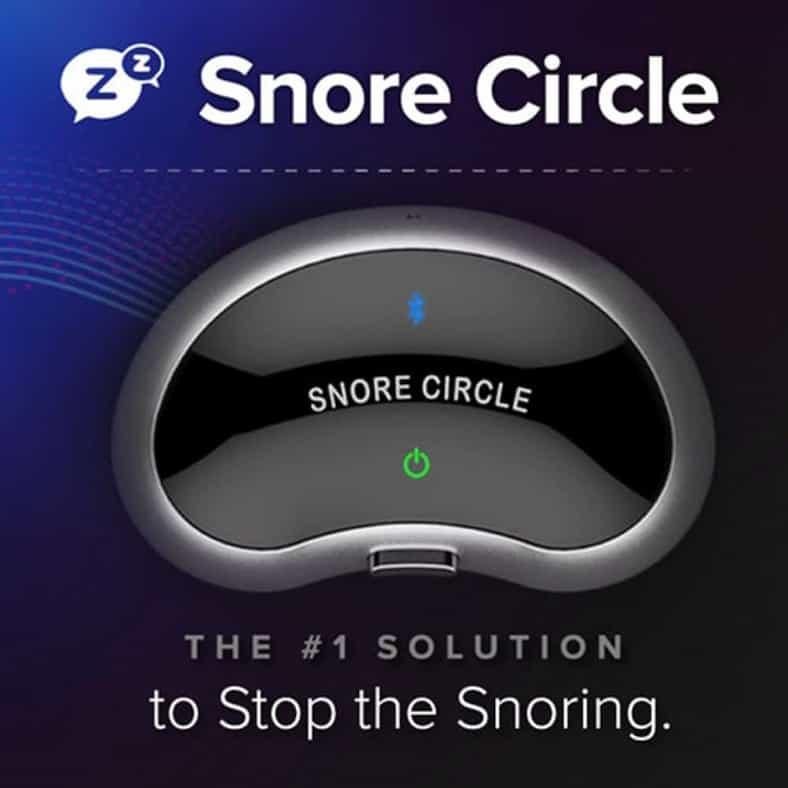 מכשיר נגד נחירות שאינו גימיק Snore Circle